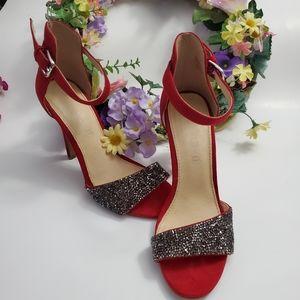 Aldo Red Sparkle Shoes